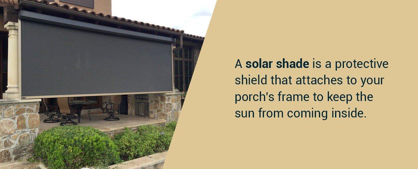 Pros of Solar Shades