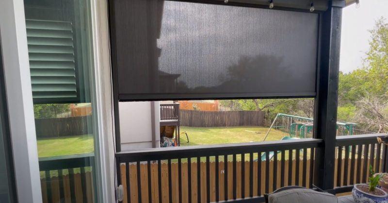 patio sun screen